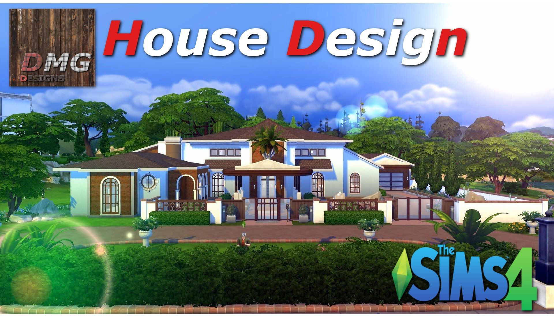 THE SIMS 4 House design Tour Forgotten Dream Spanish Mansion