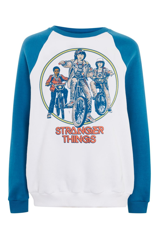 4bc95d13c 'Stranger Things' Bike Sweatshirt Slogan Tee, Graphic Sweatshirt, Printed  Sweatshirts, Bike