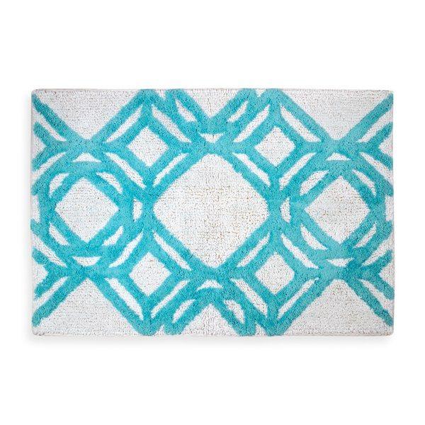 Trinity Bath Rug Apartment Decor Ideas Pinterest Bath Rugs - Teal bath rugs for bathroom decorating ideas