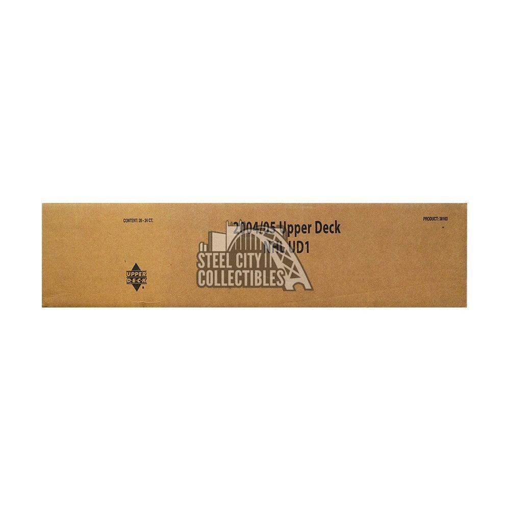 200405 upper deck series 1 hockey 24ct retail 20box case