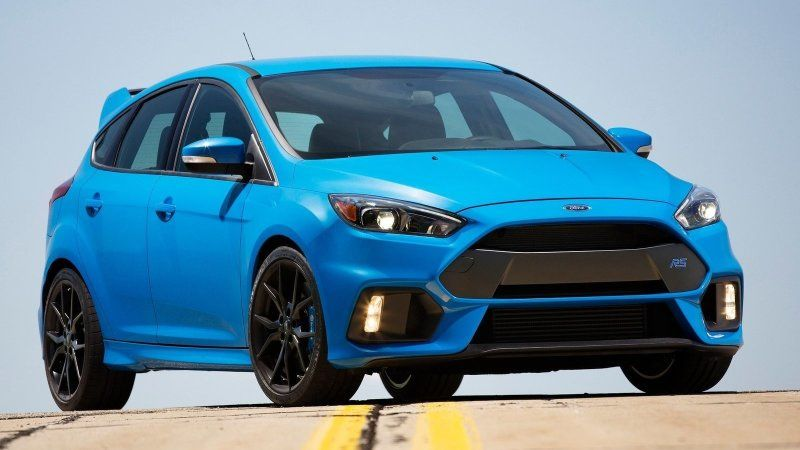 2021 Ford Focus Rs Allegedly Getting Hybrid Powertrain Ford