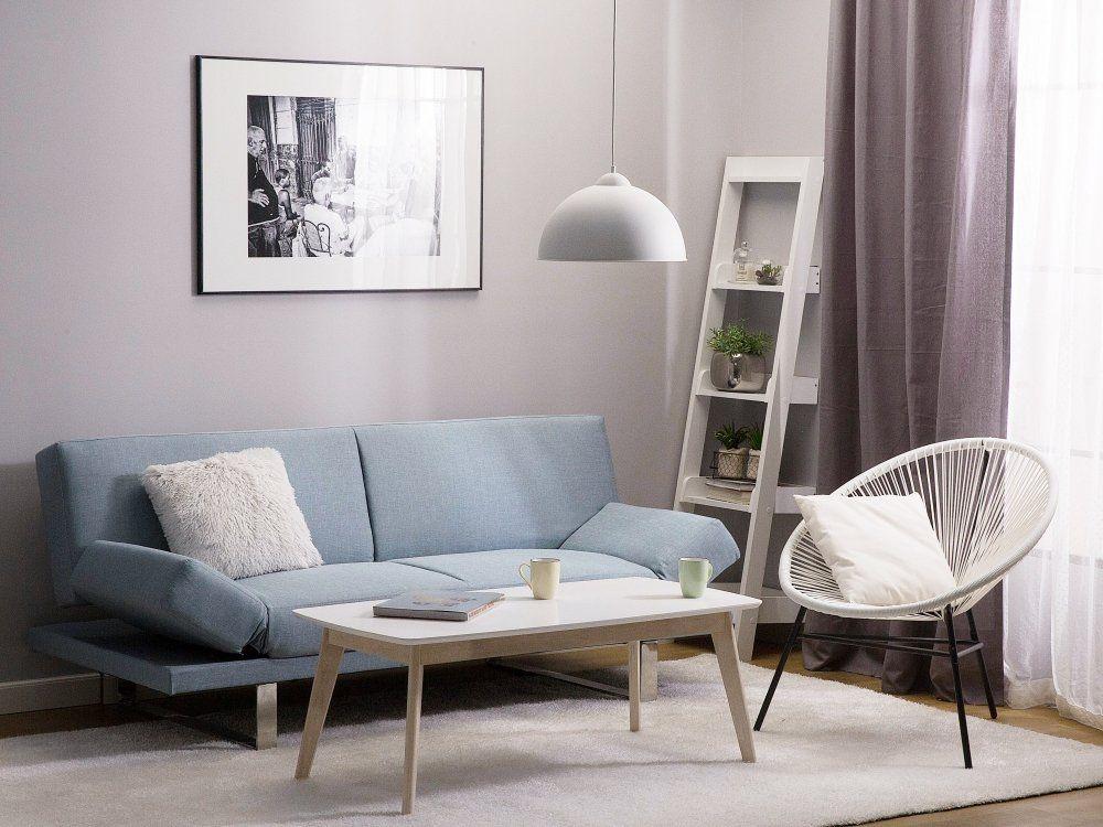 Sofa z funkcją spania jasnoniebieska - kanapa rozkładana - wersalka - ebay kleinanzeigen küchen zu verschenken