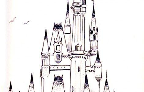Cinderella Castle Coloring Pages Cute Pinterest Colouring