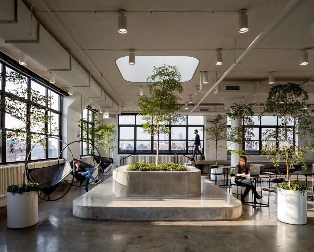 Squarespace S New Offices Are Very Serious City Office Office Space Design Office Interiors