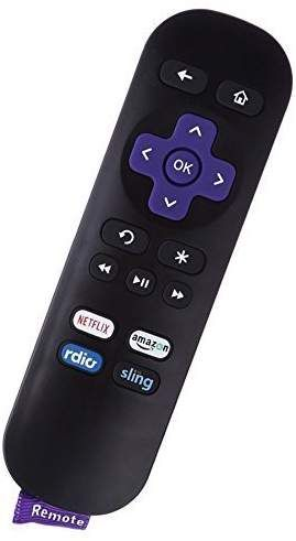 Smartby roku sling 1 New IR Remote for Roku 1 2 3 4 HD LT