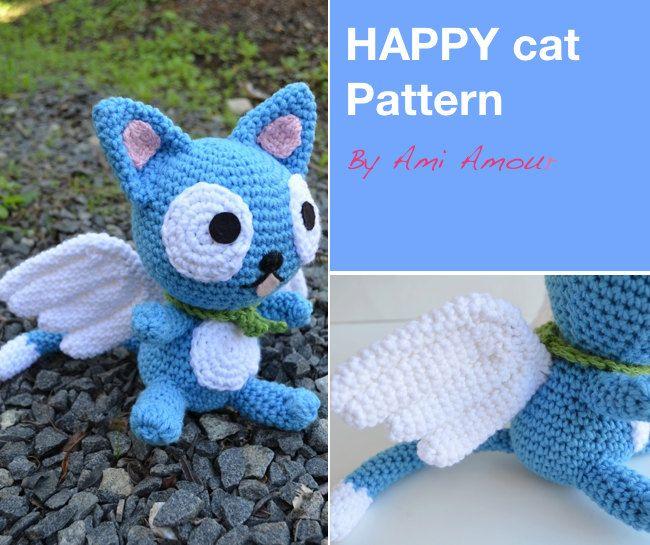 amigurumi happy fairy tail | crochet | Pinterest | Crochet patrones ...