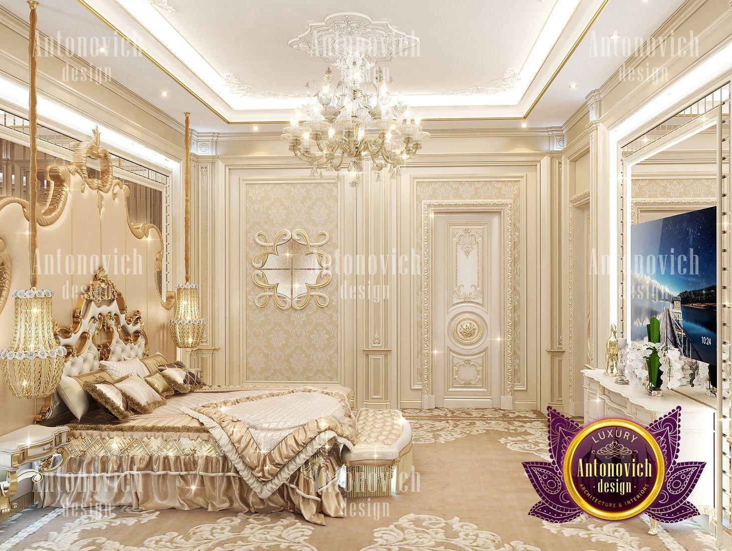 Pin On Villa Interior Design Antonovich bedroom design luxury