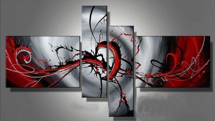 spatter modern abstract wall art framed canvas painting picasso moderne kunst für kinder erklärt