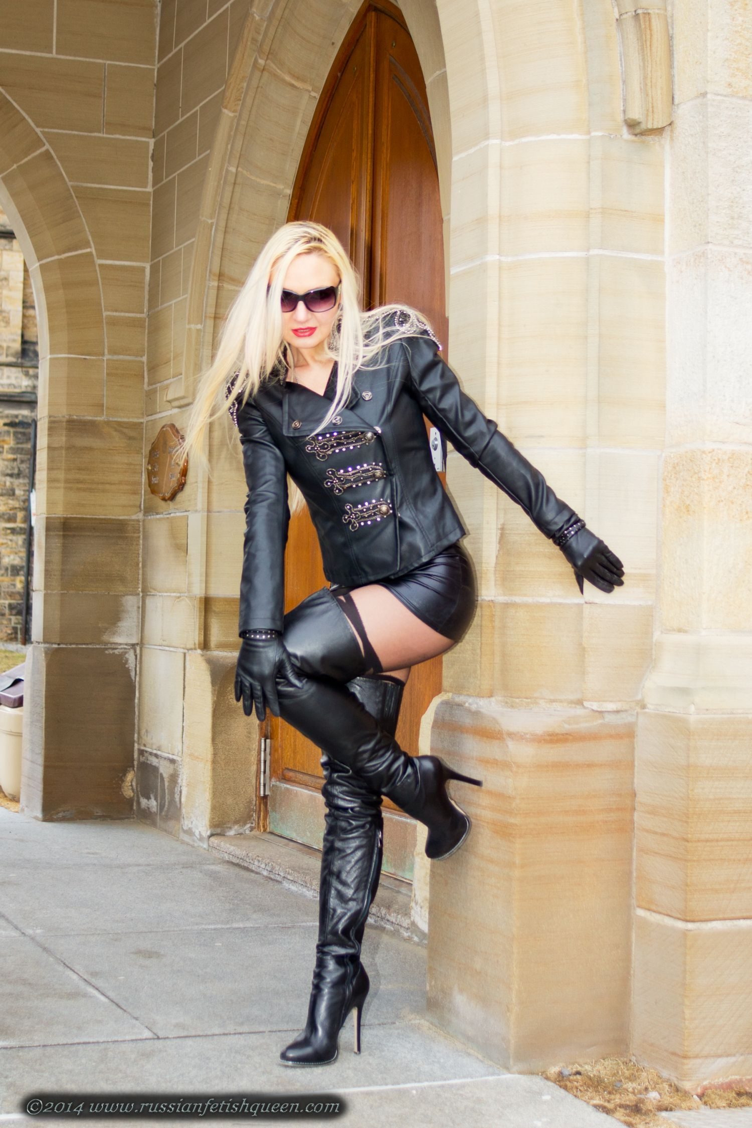 thigh high boots worship