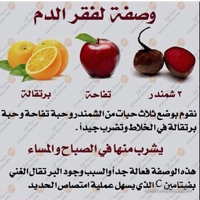 وصفه لفقر الدم Health Facts Food Health Food Food Medicine