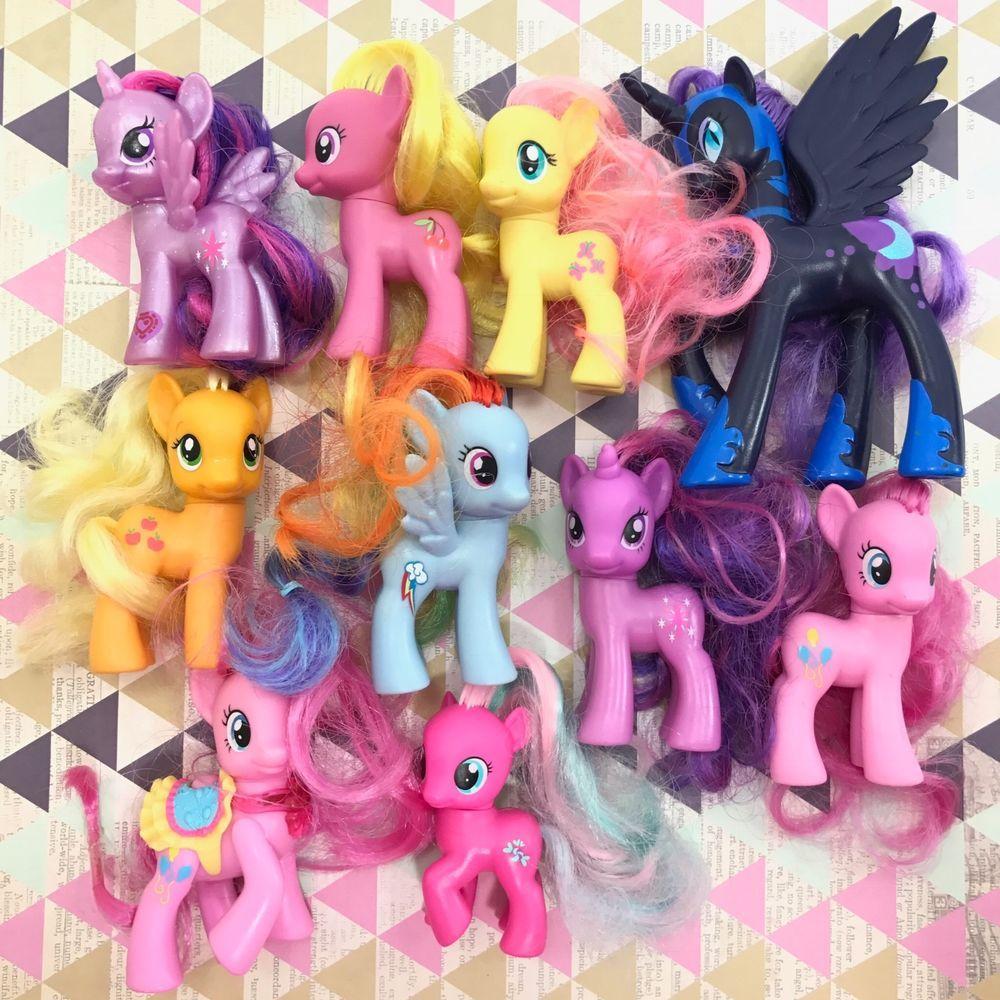My Little Pony Mlp G4 Fim Brushable Figure Lot 13 Ebay My Little Pony Little Pony Pony