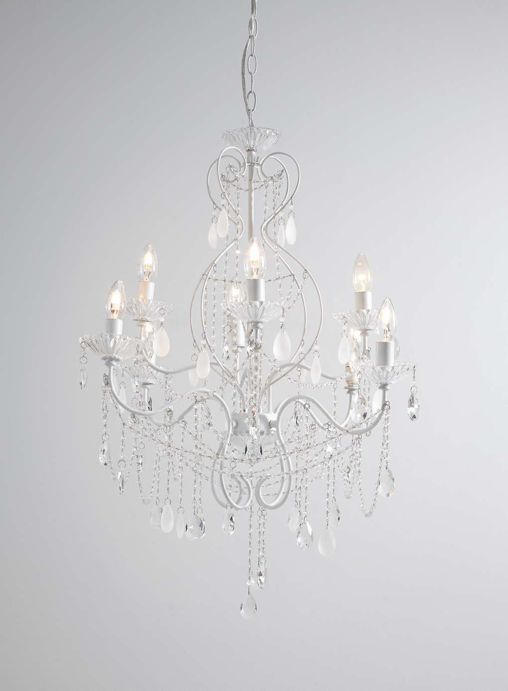 Bathroom Chandeliers Bhs white holly willoughby vintage chandelier - bhs | new salon