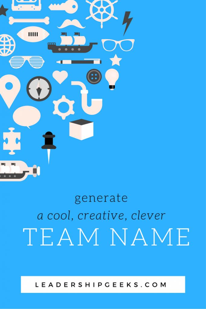 Generate a cool, creative, clever team name | Kids | Best