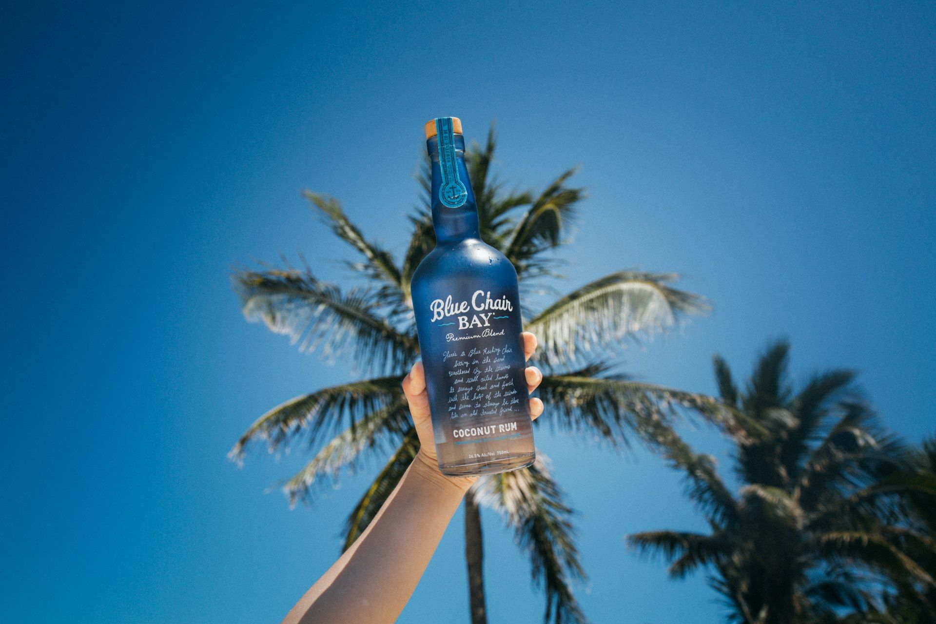 Coconut rum made with natural ingredients because it
