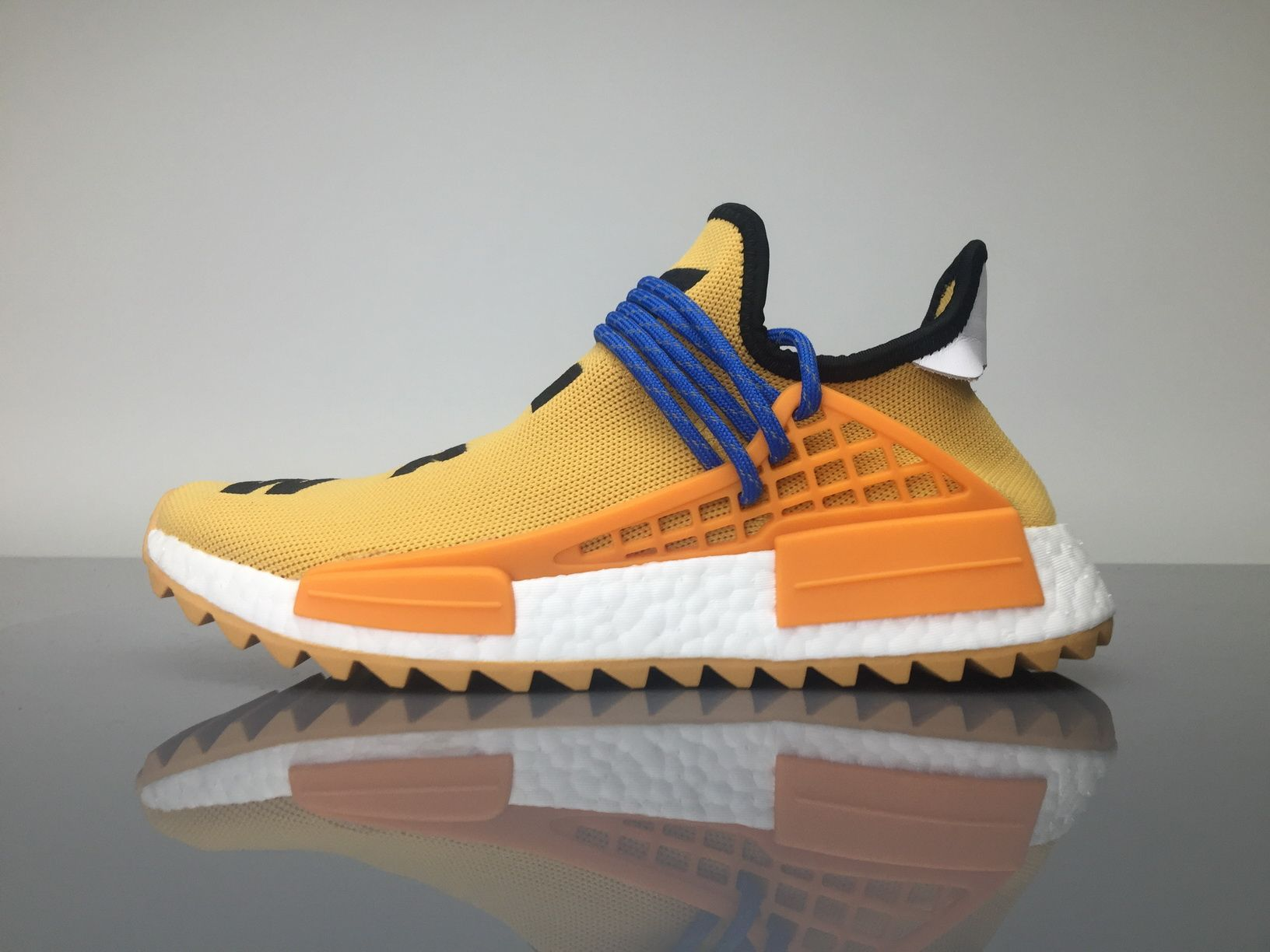 "ef3aed8be Adidas NMD Human Race Pharrell Williams ""Pale Nude"" AC7361 Orange Yellow  for Sale"
