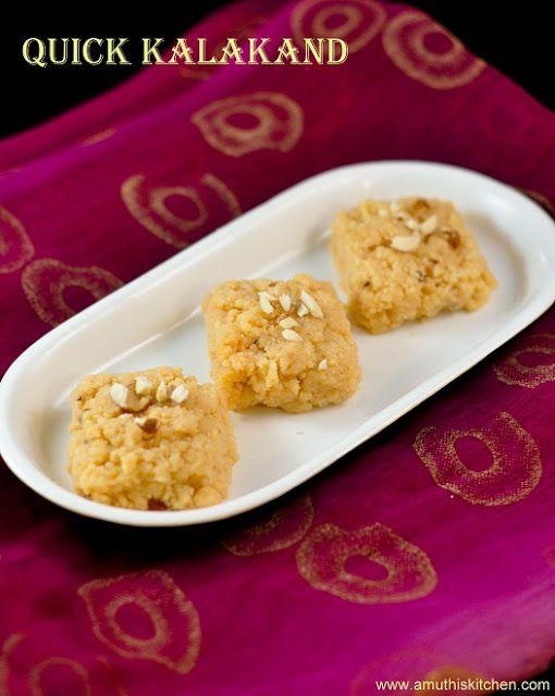 Microwave Kalakand With Ricotta Cheese Kalakand Recipe Indian Desserts Indian Food Recipes