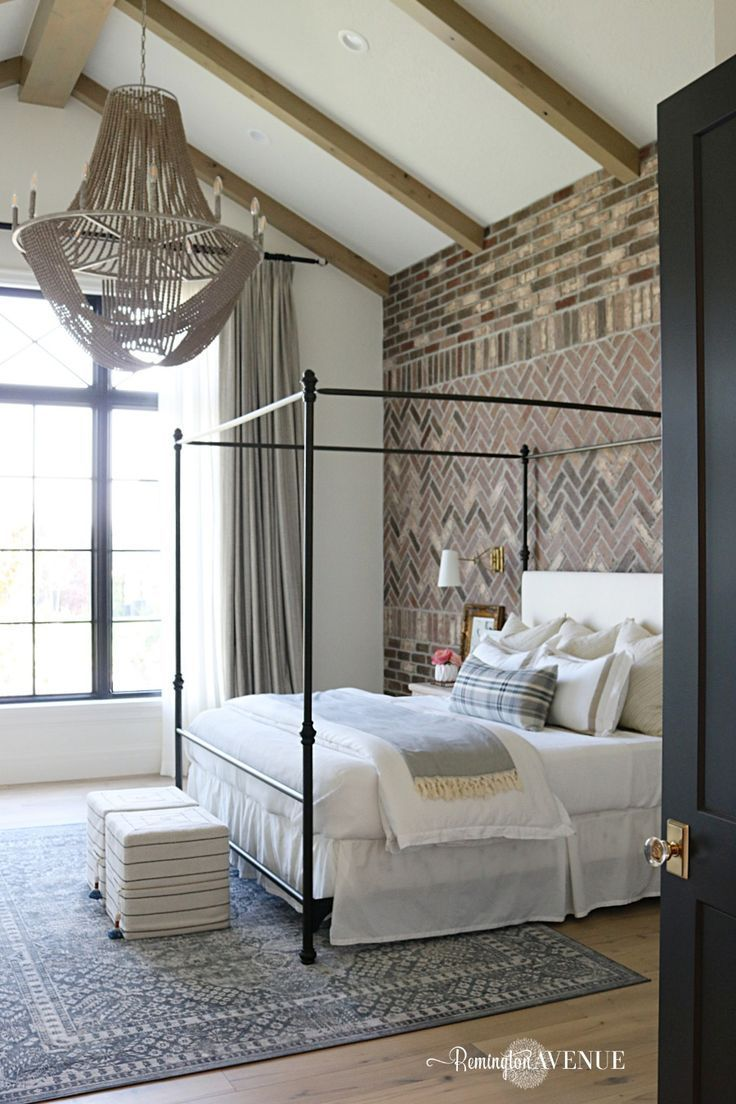 Photo of French Country Transitional Master Bedroom Tour – Remington Avenue