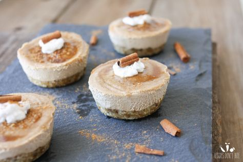 Raw Churro Cheesecake Cups