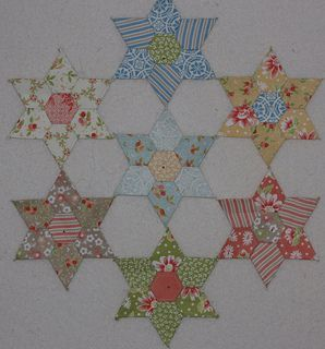Edredon English.English Paper Piecing Mylar Templates Flickr The Jewel Stars