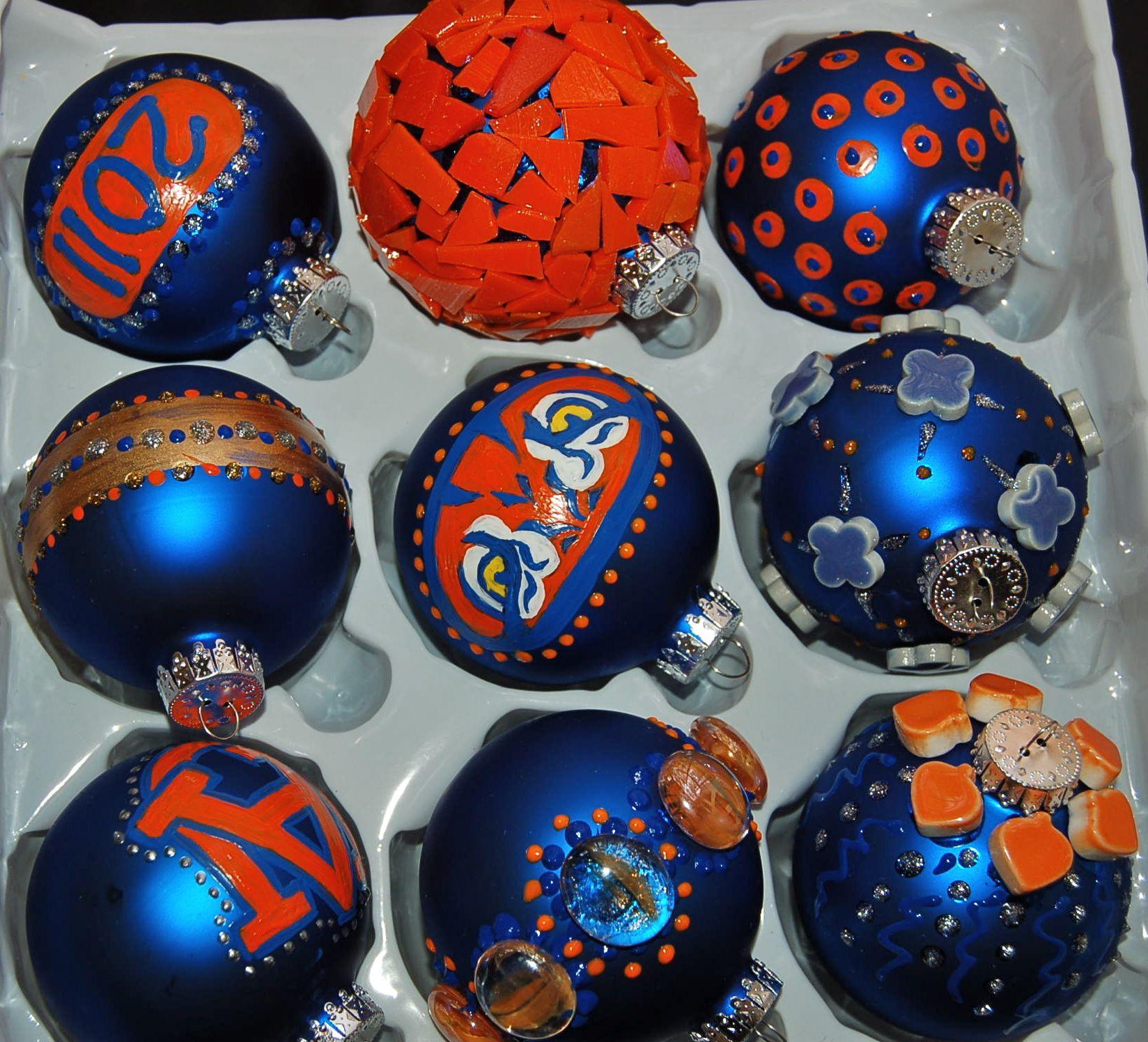 AUBURN university Christmas ornaments   Auburn decor ...