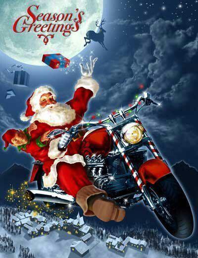 Biker Christmas.Biker Christmas Biker Quotes Harley Bikes Harley