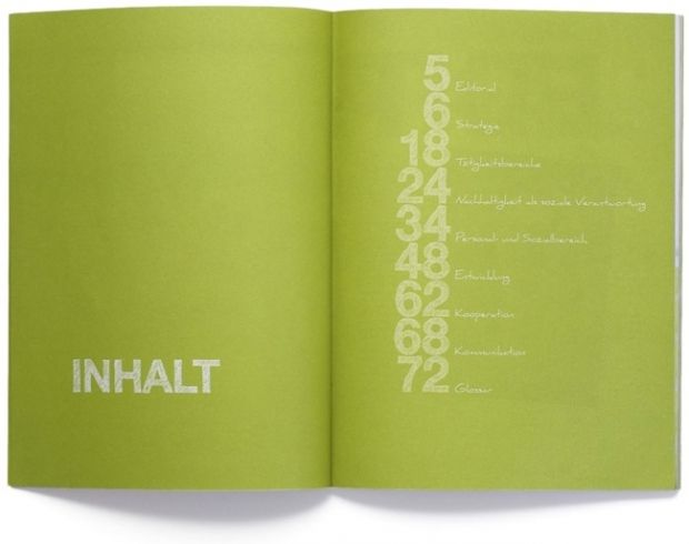 Whs Annual Report Design Org Book Editorial Design Table Of