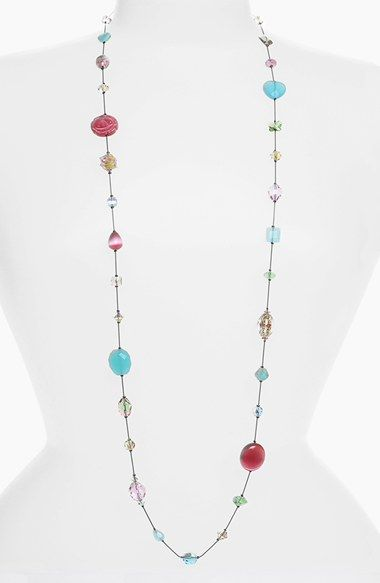 Dabby Reid 'Annie' Crystal Mix Illusion Necklace available at #Nordstrom