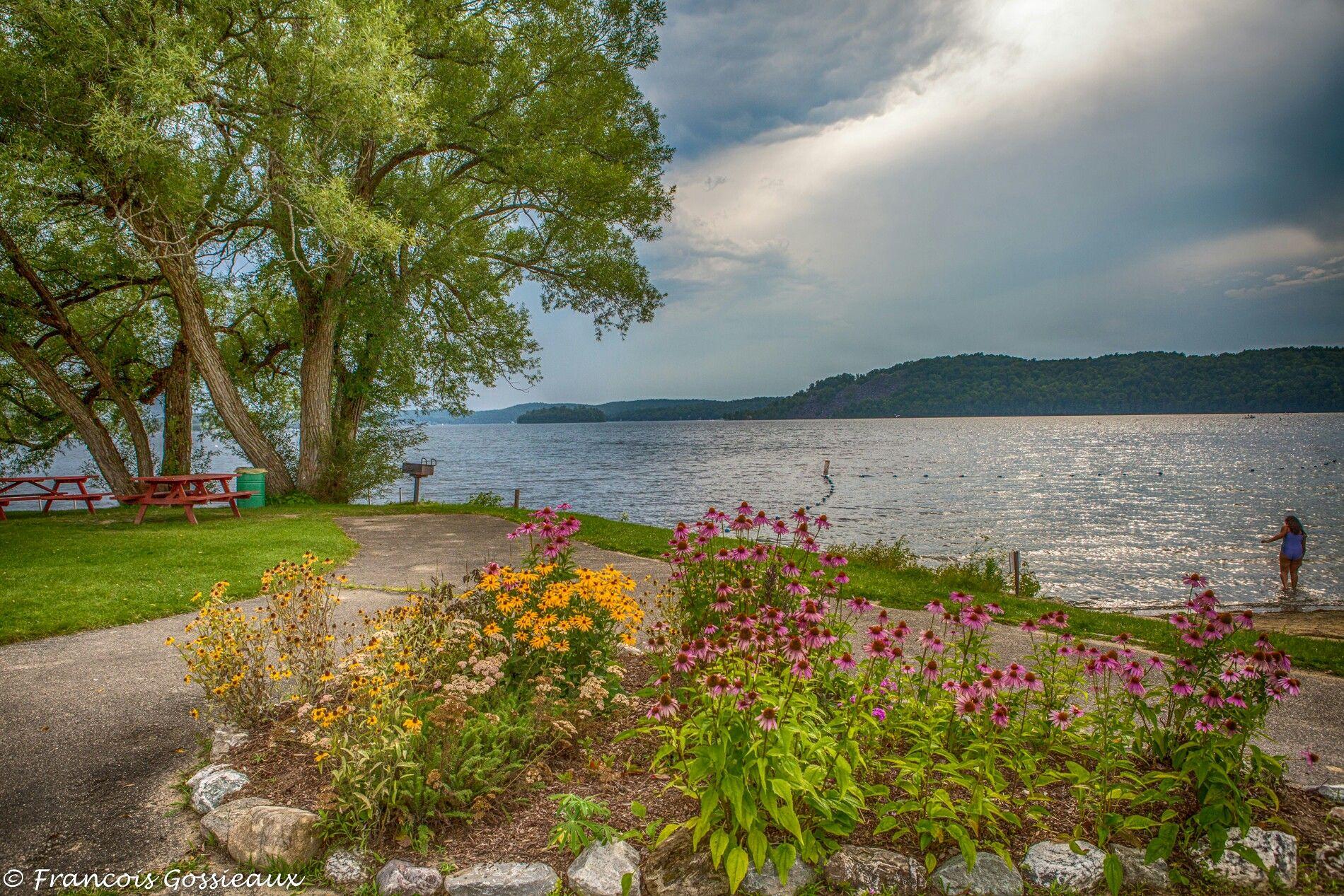 Crystal Beach At Lake Bomoseen Vt Vermontlife Vermont
