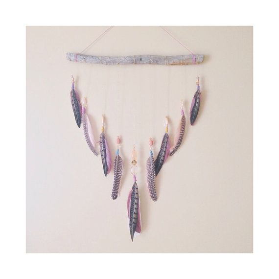 Hey, I found this really awesome Etsy listing at https://www.etsy.com/listing/192825692/free-spirit-feather-wall-hanging