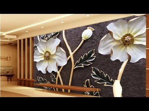 3d Wallpaper For Modern Walls With 2019 Prices Youtube