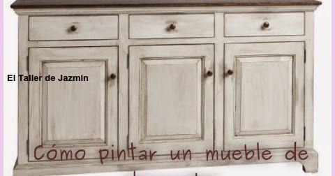 Cómo pintar un mueble de algarrobo | Restauración | Pinterest ...