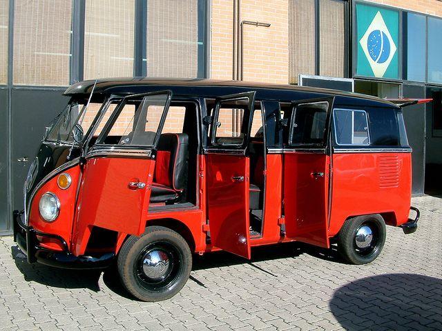 Vw T1 6 Doors Taxi Volkswagen Transporter Vw Bus Vw Splitscreen