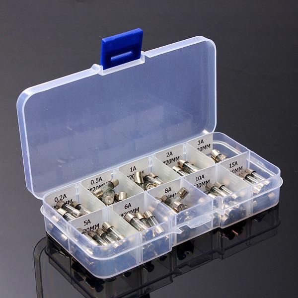100pcs 5x20mm electrical fuse amp fast blow glass fuse box products Home Fuses for Fuse Box 100pcs 5x20mm electrical fuse amp fast blow glass fuse box