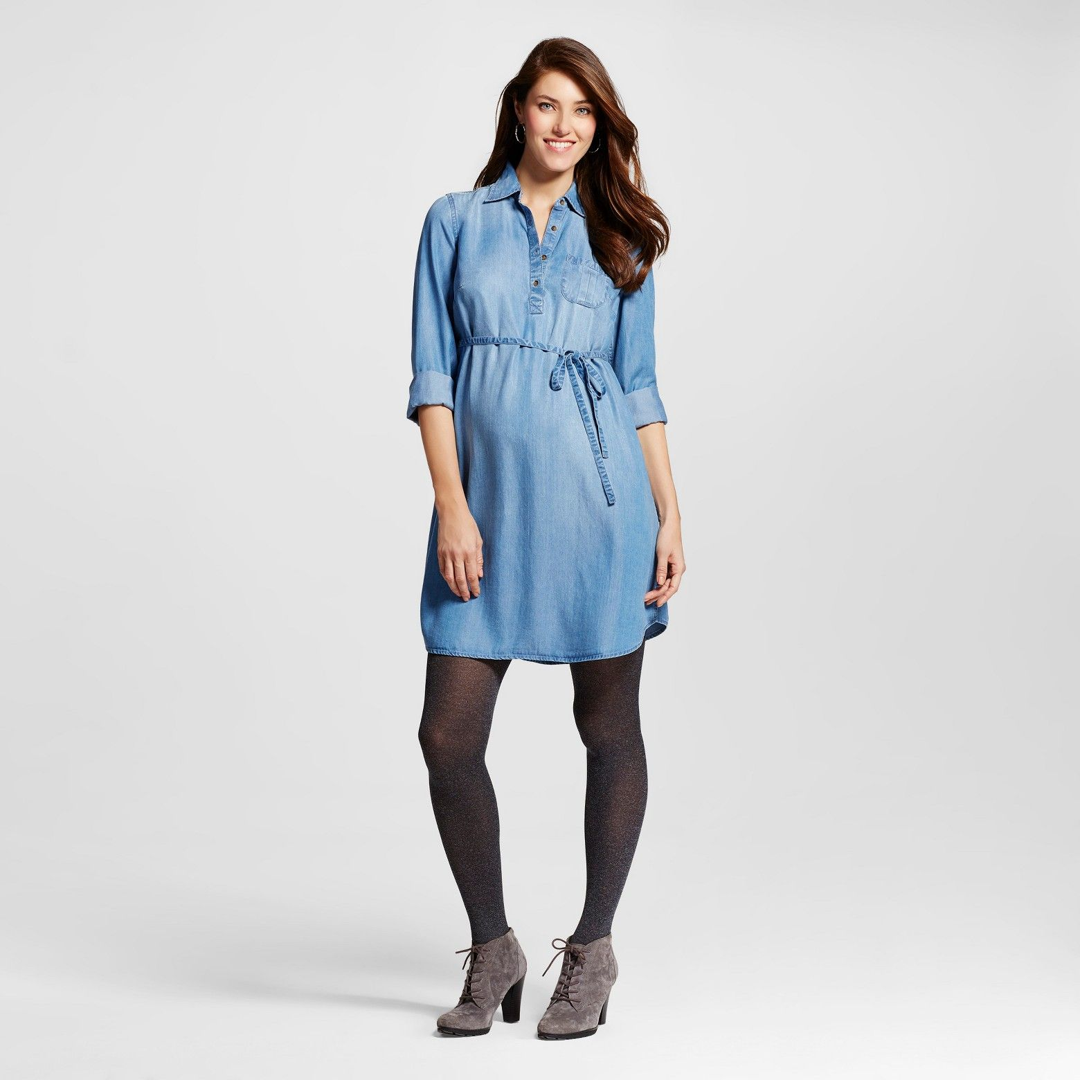 15 clearance at target denim maternity dress maternity style denim maternity dress ombrellifo Image collections