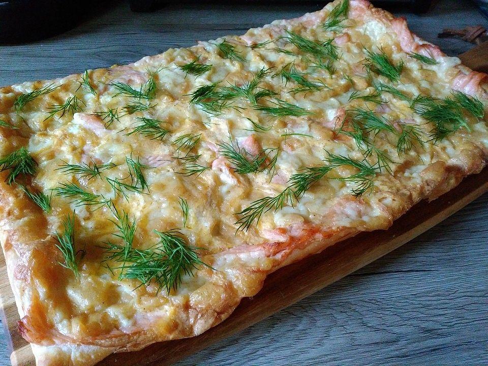 Photo of Swedish Salmon Cake 'Sweden Pizza' by Viniferia   Chef