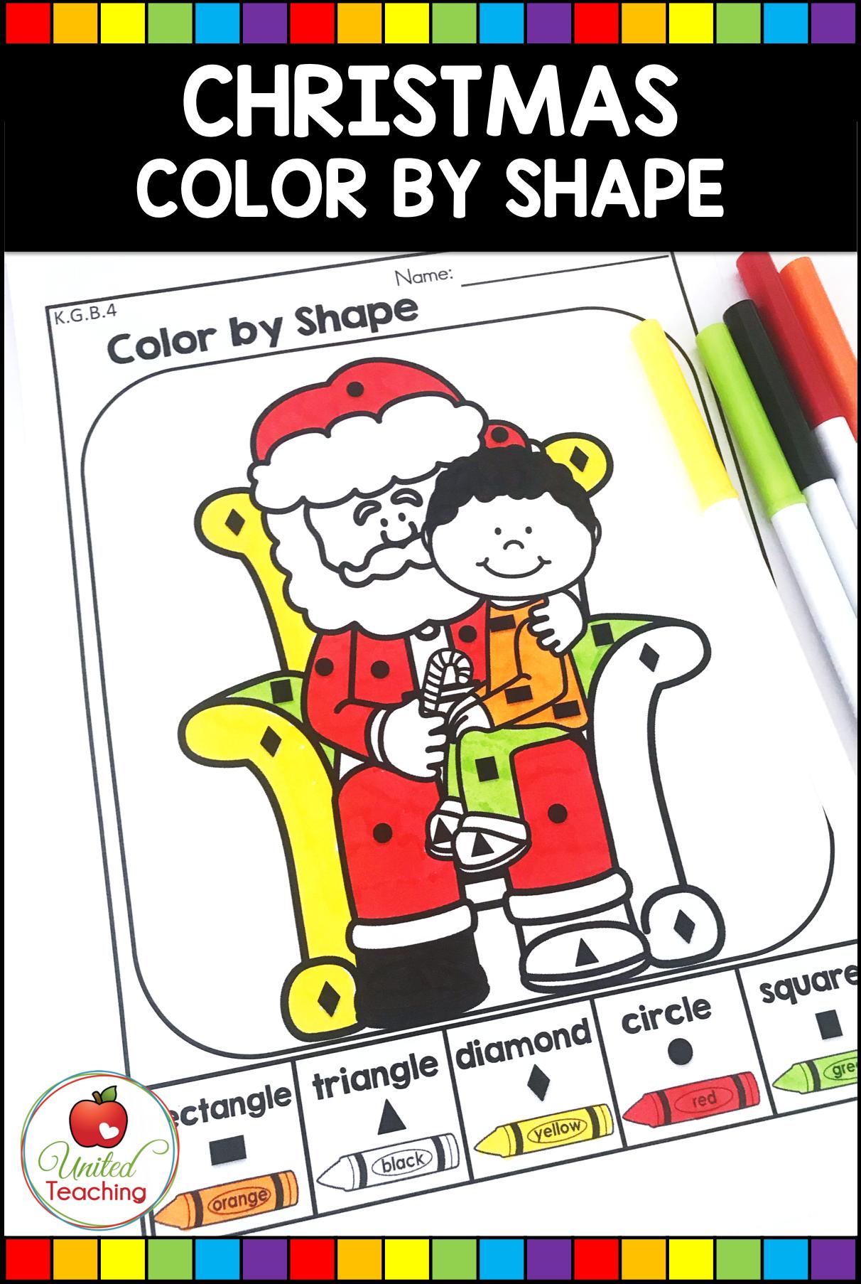 Christmas Math And Literacy Kindergarten No Prep