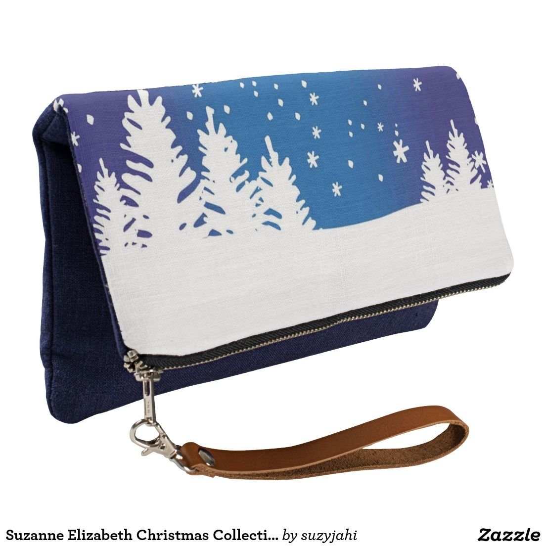 Suzanne Elizabeth Christmas Collection Clutch