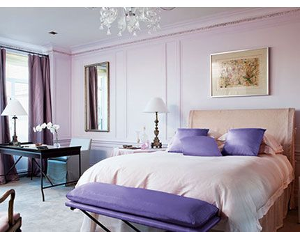 Images Of Lavender Colored Furniture | Lavender Painted Bedrooms