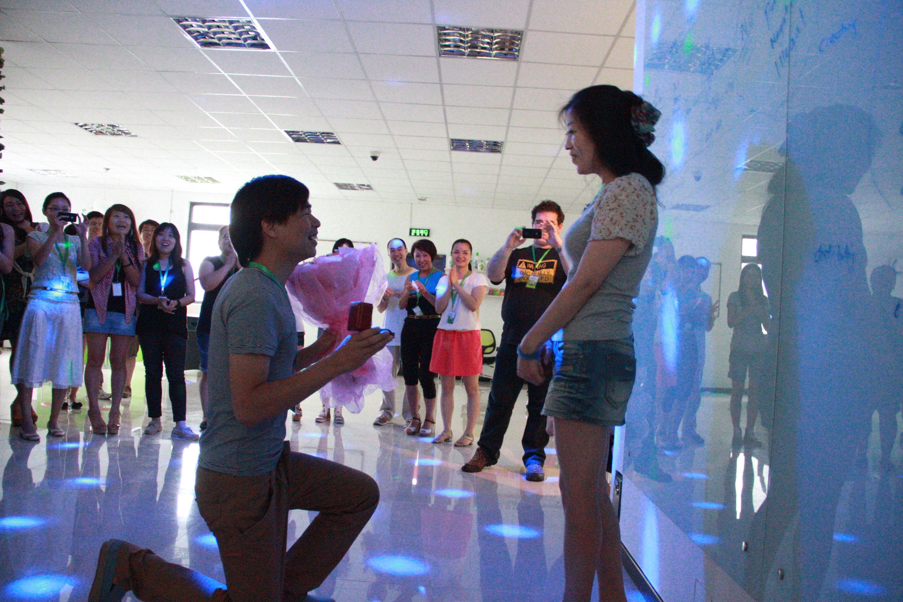 Dean proposing to Fulin