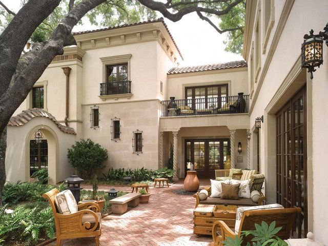 Attrayant 18 Charming Mediterranean Patio Designs To Make Your Backyard Sparkle