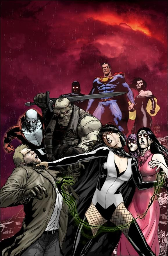 Justice League Dark #24 Cover Forever Evil Crime Syndicate