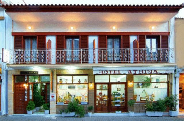 Hotel In Delphi Greece Tourist Information Is Provided At The Reception Conveniently Close To Bus Terminal