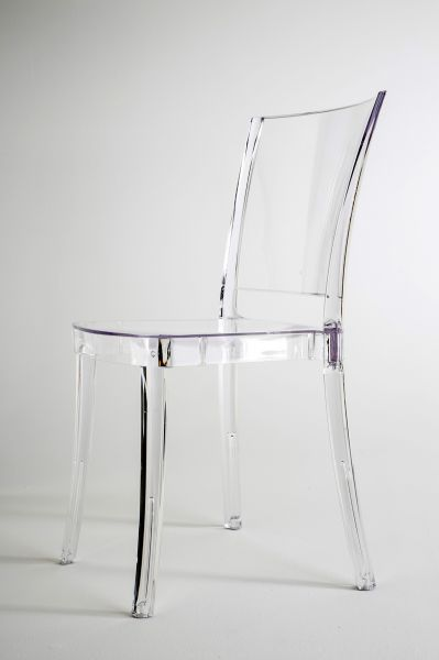 41,90 Euro Transparent Stuhl Glasklar   LUCIENNE