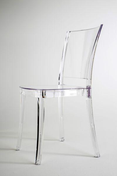 41,90 Euro Transparent Stuhl Glasklar   LUCIENNE
