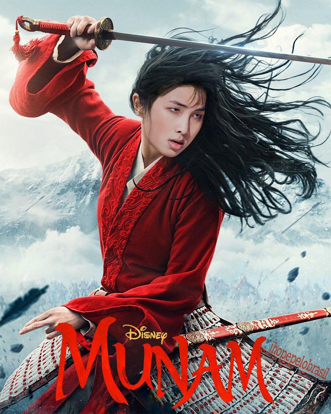 Pin de Quỳnh Anh em BTS imagens) Mulan, Filmes