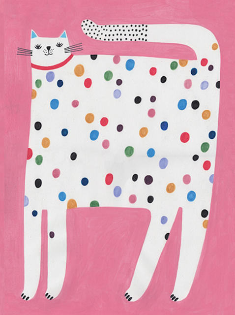 Daria Solak Cat Artwork Photography Illustration Art Room