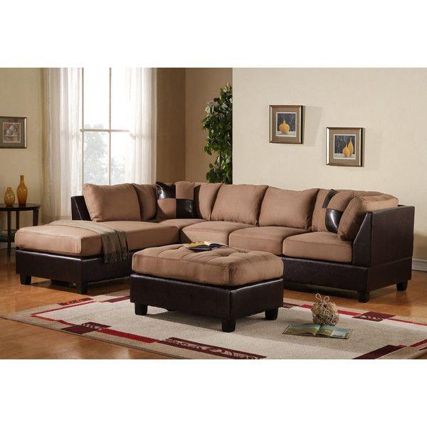 Madison Home USA Left Hand Facing Sectional U0026 Reviews   Wayfair