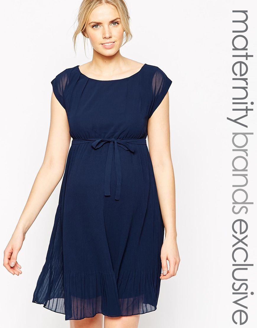1005bb77750 Vestido de tarde de Mamalicious | Blusas y patrones | Vestidos para ...