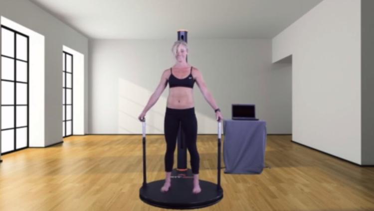Fit3D 3D Body Scanning for Fitness aus Kalifornien