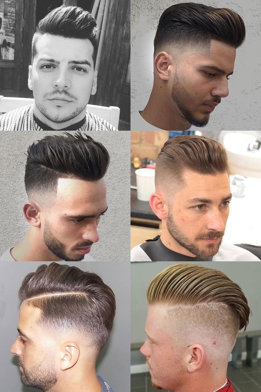Pinterest mens haircuts pompadour fade haircuts  mens hair  pinterest  pompadour fade